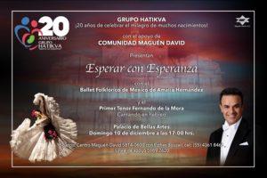 ESPERAR CON ESPERANZA @ TEATRO DE BELLAS ARTES