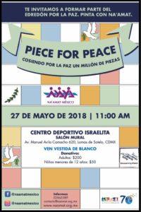 PIECE FOR PEACE @ Centro Deportivo israelita  | Naucalpan de Juárez | Estado de México | México