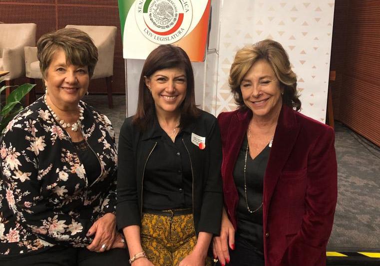 Voluntarias Judeo Mexicanas presentes y apoyando contra el delito de violencia sexual contra niñas, niños y adolescentes