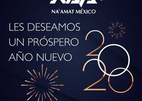 Na'amat México les desea un próspero año 2020