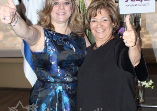 Felicidades Gina Laban,  Bienvenida Sara Nates nueva presidenta de Na´amat