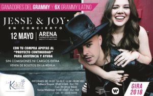 JESSE Y JOY EN CONCIERTO @ ARENA CIUDAD DE MÉXICO