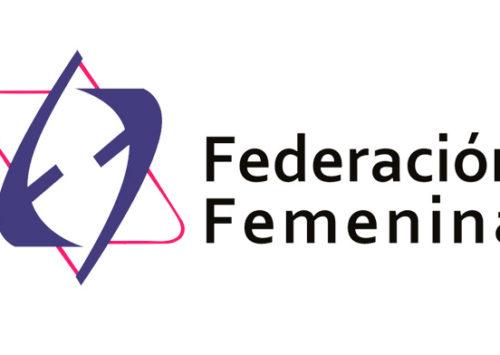 """Federación Femenina lamenta el sensible fallecimiento de la Sra. Zelda Mizrahi Lombroso viuda de Sarfati Z""""L"""